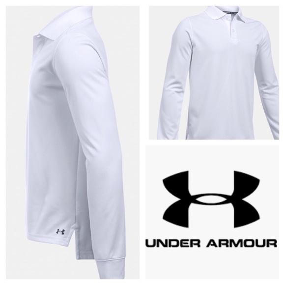 Under Armour Other - Boys UA long sleeve Polo